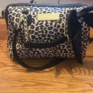 Betsy Johnson Leopard Purse